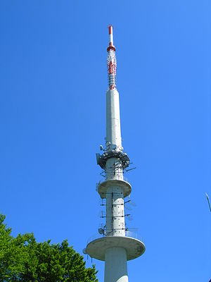 Nordhelle (Ebbe Mountains) - Image: WDR Turm Nordhelle