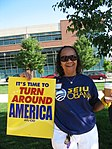 WI Union activists protest outside McCain Town Hall in Racine, July 31, 2008 (2722994302).jpg
