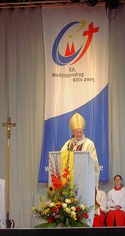 WJT2005 volunteer mess Joachim Meisner
