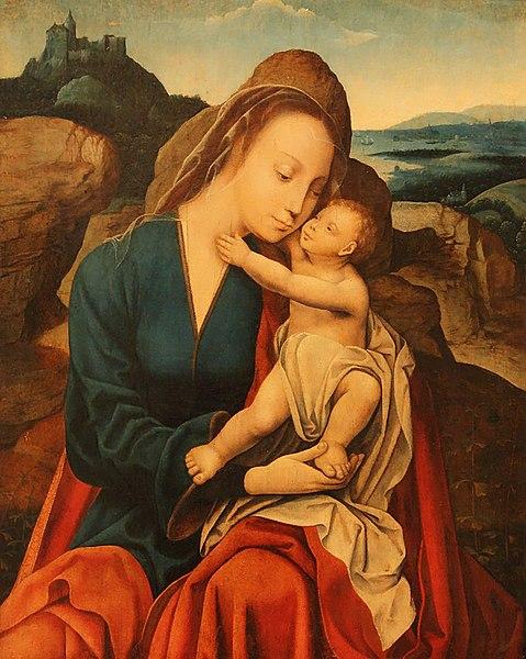 File:WLANL - karinvogt - Meester van de Mansi-Magdalena, Maria met kind.jpg
