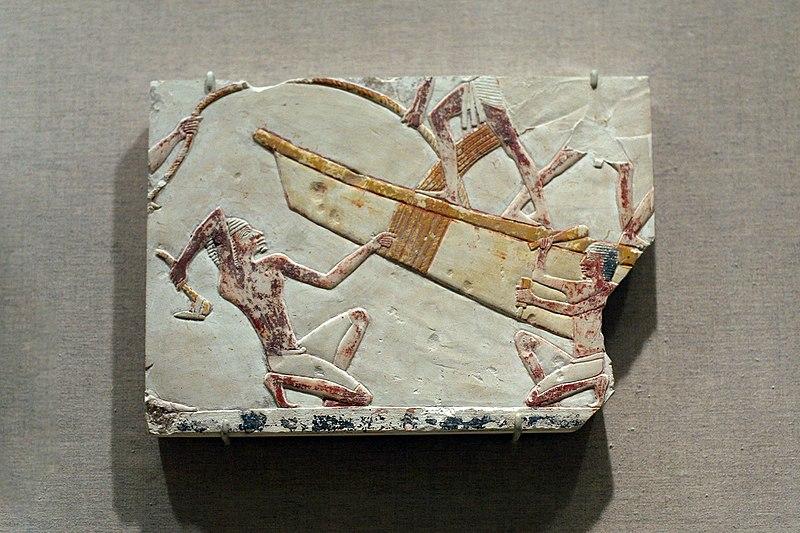 File:WLA brooklynmuseum BoatBuilding Scene ca 664-634 BCE.jpg
