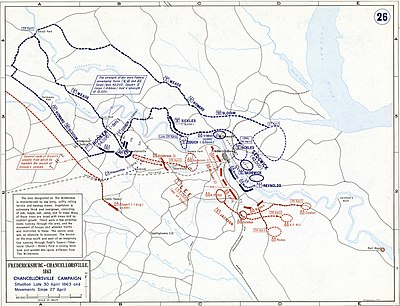 essay on the battle of chancellorsville