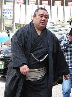 Wakanosato Shinobu Japanese sumo wrestler