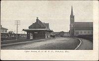 Wakefield station undivided back postcard.jpg