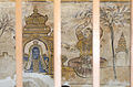 Wall paintings depicted in the cloister Mandapa, Big Temple, Thanjavur - 2.JPG