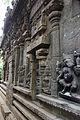 Wall relief sculptures in Gaursihavara temple at Yelandur.JPG