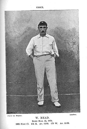 Walter Mead (cricketer) - Walkter Mead