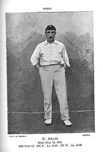Walter Mead (cricketer) - Walkter Mead