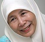 Präsidentin Wan Azizah Wan Ismail