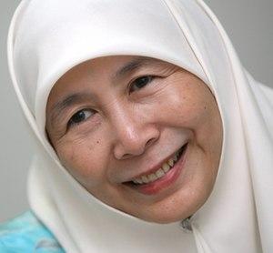 Opposition (Malaysia) - Image: Wan Azizah 2