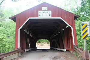 Little Fishing Creek - Wanich Covered Bridge No. 69