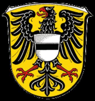 Gelnhausen - Image: Wappen Gelnhausen