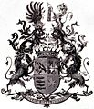 Wappen Kochanowski von Stawczan (Freiherren) 1898.jpg