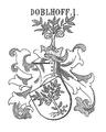 Wappen der Holer von Doblhoff 1692.png