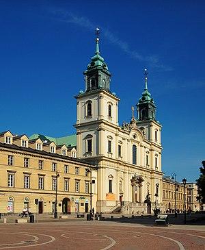 Holy Cross Church, Warsaw - Church façade (center), 2010.