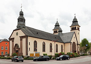 Wasserbillig - St Martin's church