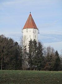 Wasserturm Buchdorf, December 2019.jpg