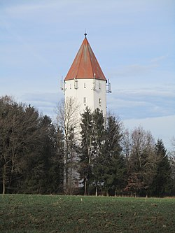 The water tower of Buchdorf