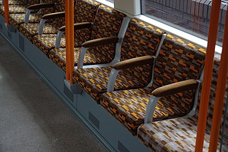 London Overground - Wallace Sewell moquette upholstery