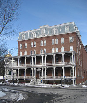 The Pavilion (Vermont) - The Pavilion houses the working offices of the Governor of Vermont.