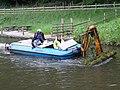 Weed cutting below Tonna Lock on the Neath Canal - geograph.org.uk - 444071.jpg