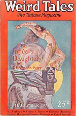 Weird Tales cover image for December 1927