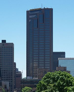 Minnesota State Colleges and Universities system - Wells Fargo Place, the headquarters of the System.