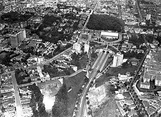 Vista aérea do Jardim Paulista e Cerqueira César. São Paulo/SP