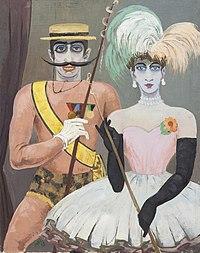 Werner Heuser 1953 100x80cm Carneval.jpg