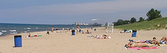 Portage Township, Porter County, Indiana - West Beach at Indiana Dunes National Park