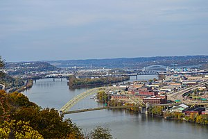 West End Bridge (Pittsburgh) - Image: West End Bridge