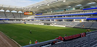 Western Sydney Stadium - Photo from March 2019, after major construction completed.
