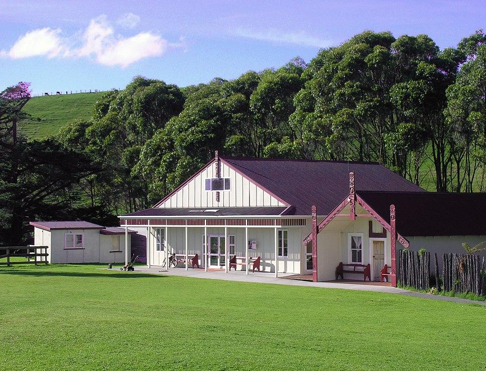 Whenuakura Marae, Taranaki, New Zealand