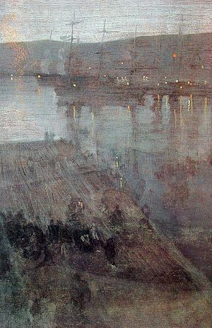 Nocturne in Blue and Gold: Valparaiso Bay (186...