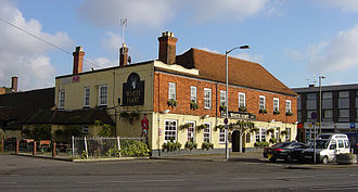 Frimley - The White Hart now refurbished