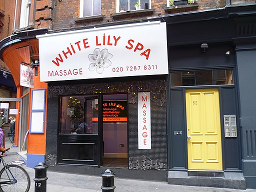 White Lily Spa, Tisbury Court, Soho