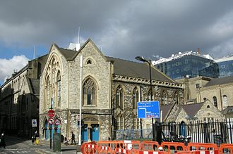 Whitefield's Tabernacle, Moorfields - Whitefield's Tabernacle (photographed in 2013)