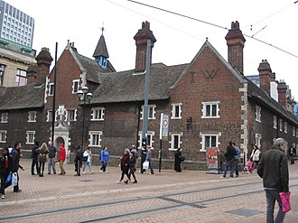 Grade I and II* listed buildings in the London Borough of Croydon - Image: Whitgift Almshouses