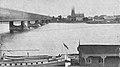 Widok na Pragę z mostem Kierbedzia przed 1919.jpg