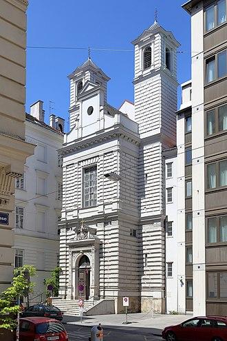 Mekhitarists - Mechitaristenkirche: Mekhitarists Armenian Catholic Church in Vienna, Austria.