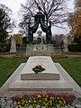 Wiener Zentralfriedhof - Gruppe 14A - Friedrich von Schmidt, Johann Nepomuk Prix (2).jpg