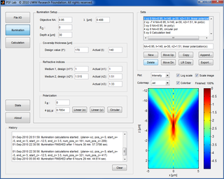 PSF Lab microscope software