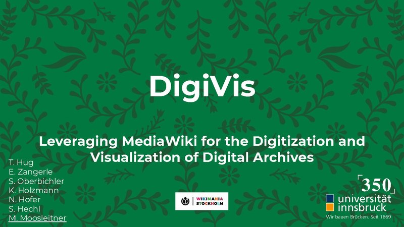 File:Wikimania 2019 - DigiVis - Leveraging MediaWiki for the Digitization and Visualization of Digital Archives.pdf