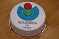 Wikimedia UK charity cake.jpg