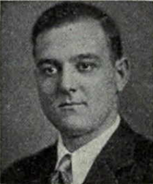 Bill McAfee - McAfee from the 1930 Michiganensian