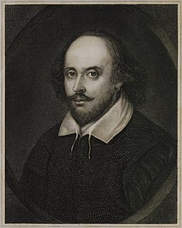 William Shakespeare by C. F. Irminger