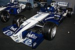 Williams FW27 front-left 2017 Williams Conference Centre.jpg