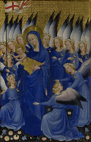 Wilton Diptych - The Wilton diptych; right-hand panel