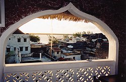 Window, Stone House Hotel in Lamu, Kenya (June 30, 2001).jpg