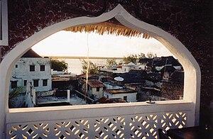 Lamu Archipelago - View of Lamu town, on Lamu Island